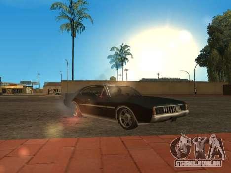 Qualidade brilho do sol para GTA San Andreas
