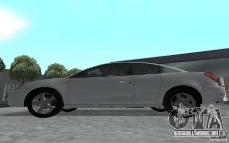 Saturn Ion Quad Coupe para GTA San Andreas vista direita