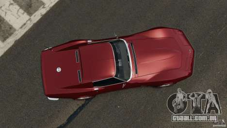 Chevrolet Corvette Stringray 1969 v1.0 [EPM] para GTA 4 vista direita