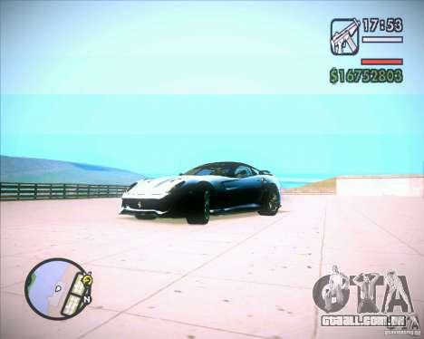 ENBSeries by Jack Nord para GTA San Andreas segunda tela