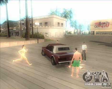 Minhas configurações ENBSeries HD para GTA San Andreas segunda tela