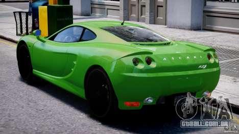 Ascari KZ-1 para GTA 4 vista direita