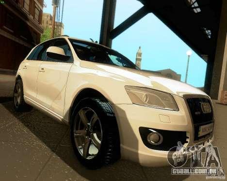 Audi Q5 para GTA San Andreas vista interior
