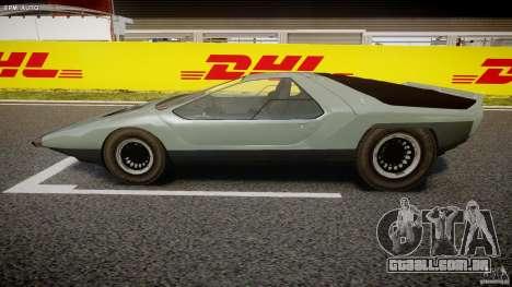 Alfa Romeo Carabo para GTA 4 esquerda vista