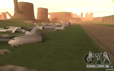 New desert para GTA San Andreas sétima tela