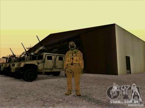 Morpeh americano para GTA San Andreas segunda tela