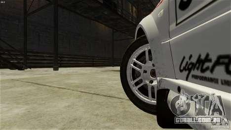 Mitsubishi Lancer Evolution IX RallyCross para GTA 4 vista de volta