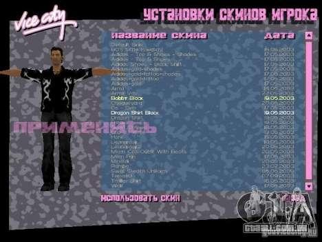 Pack de skins para o Tommy para GTA Vice City décimo tela