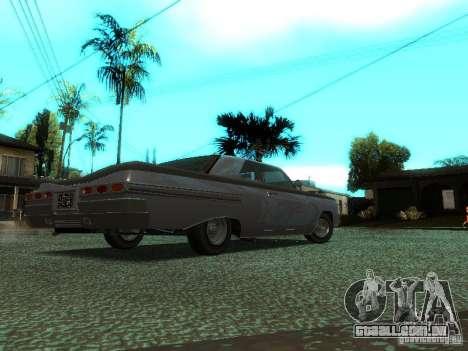 Vodu no GTA IV para GTA San Andreas traseira esquerda vista
