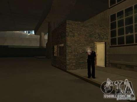 The Los Angeles Police Department para GTA San Andreas por diante tela