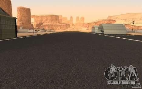 New Verdant Meadows Airstrip para GTA San Andreas segunda tela