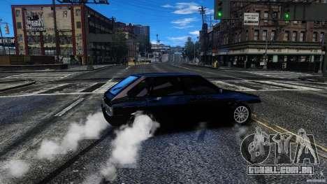 VAZ 2109 Drift Turbo para GTA 4 vista lateral