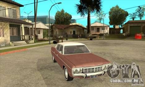 AMC Matador 1971 para GTA San Andreas vista traseira