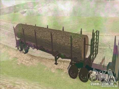 Reboque, Peterbilt 379 para GTA San Andreas