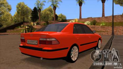 Mazda 626 Stock para vista lateral GTA San Andreas