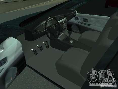 Renault Megane I para GTA San Andreas traseira esquerda vista