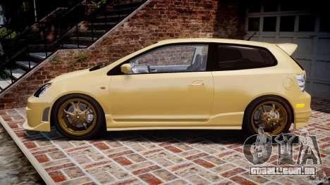 Honda Civic Type R 2005 para GTA 4 esquerda vista