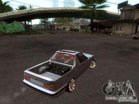 BMW E34 Pickup para GTA San Andreas vista direita
