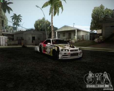 Nissan Skyline Z-Tune v2.0 para o motor de GTA San Andreas