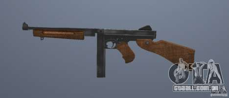 M1 Thompson para GTA San Andreas terceira tela