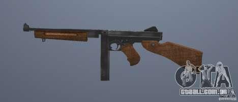 M1 Thompson para GTA San Andreas terceira tela