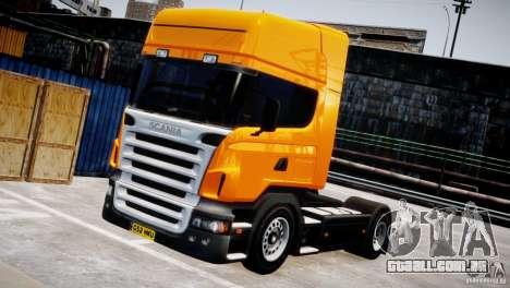 Scania R500 para GTA 4 vista de volta