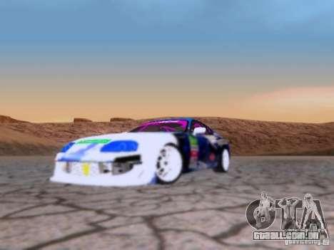 Toyota Supra para GTA San Andreas vista direita