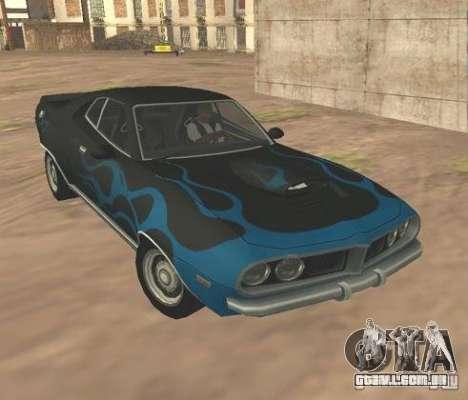 Bullet GT from FlatOut 2 para GTA San Andreas