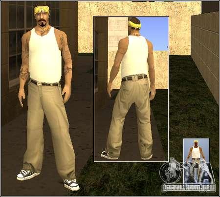 Pele Pack Getto para GTA San Andreas sexta tela