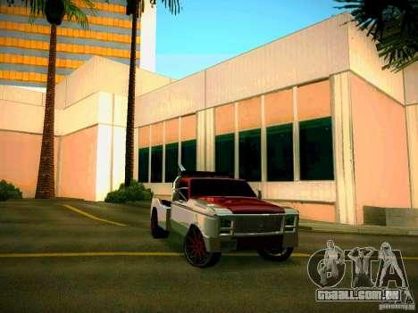 Towtruck tuned para GTA San Andreas