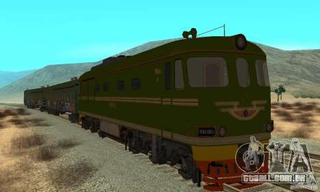 Custom Graffiti Train 2 para GTA San Andreas