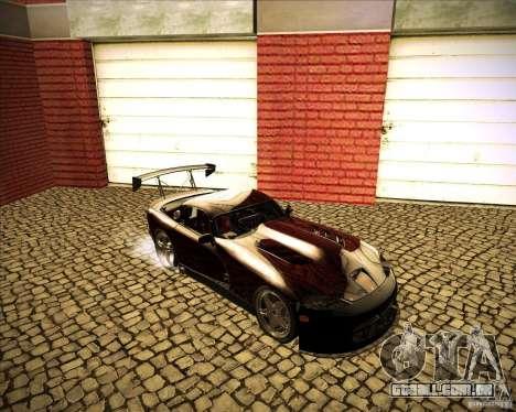 Dodge Viper TT para GTA San Andreas vista traseira