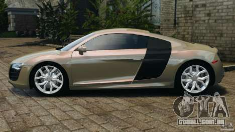 Audi R8 V10 2010 para GTA 4 esquerda vista