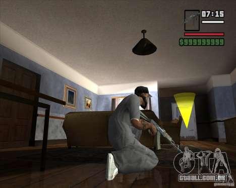 AKM HD para GTA San Andreas terceira tela