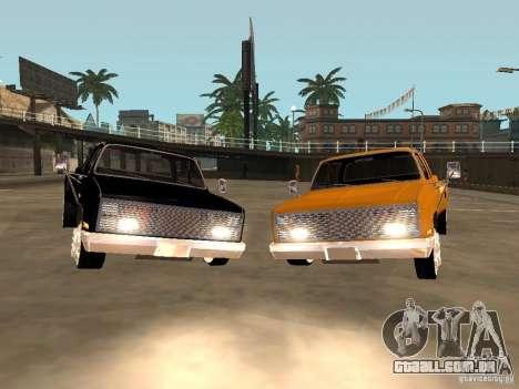 Chevrolet Silverado Lowrider para GTA San Andreas traseira esquerda vista