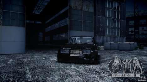 Drift de 2105 VAZ para GTA 4 vista de volta