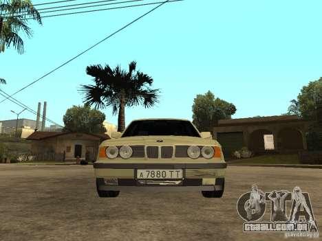 BMW 520i para GTA San Andreas vista direita