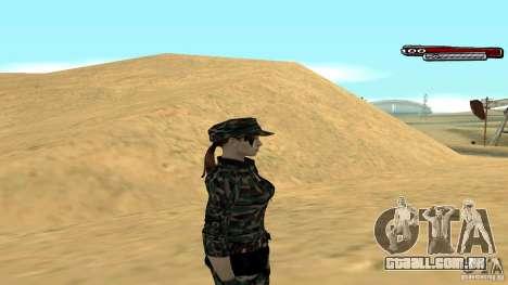 Soldado HD para GTA San Andreas terceira tela