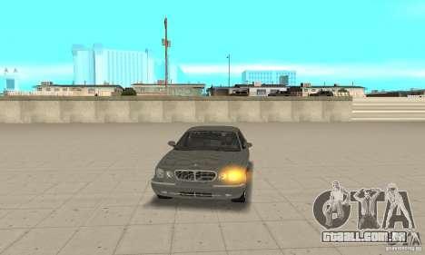 Luzes de canto universal para GTA San Andreas segunda tela