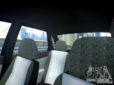 LADA Priora de 2170 para GTA 4 vista interior