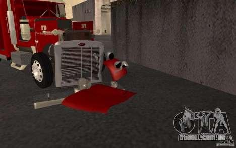 Peterbilt 379 Fire Truck ver.1.0 para GTA San Andreas vista superior