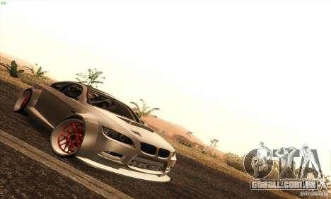 BMW M3 E92 Tuned v2 para GTA San Andreas