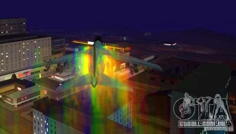 RainbowDash Hydra para GTA San Andreas esquerda vista
