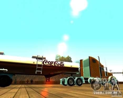 Trailer de Coca-Cola para GTA San Andreas esquerda vista