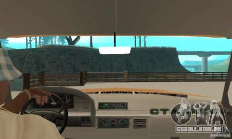 Ford F-350 1992 para GTA San Andreas vista traseira