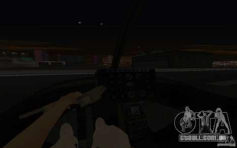 GTA IV Police Maverick para vista lateral GTA San Andreas