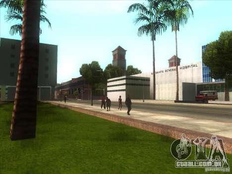 ENBSeries para PC médio e fraco para GTA San Andreas quinto tela