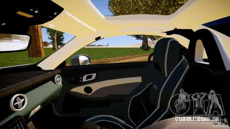Mercedes-Benz SLK 2012 para GTA 4 vista lateral