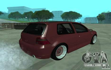 Volkswagen Golf para GTA San Andreas esquerda vista