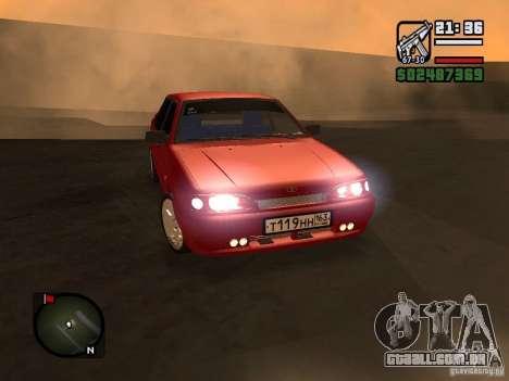 VAZ 2115 FYR Beta para GTA San Andreas